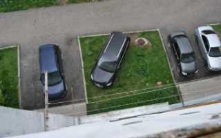 Куда следует жаловаться при парковке машин на газоне