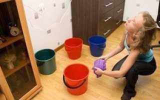 Что делать, если затопили квартиру соседи сверху