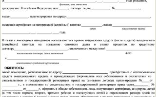 Нотариальное обязательство по материнскому капиталу в России