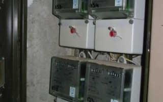 Кто должен менять счетчик электроэнергии на лестничной площадке в России