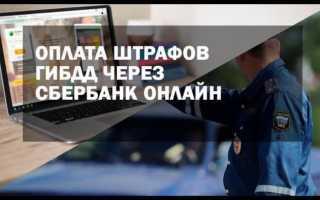 Как можно оплатить штраф ГИБДД через Сбербанк-онлайн