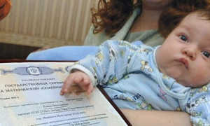 Материнский капитал за первого ребенка в 2020 году (если ему более 18 лет либо он умер)