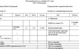 Как правильно выдавать расчетные листки по зарплате в России