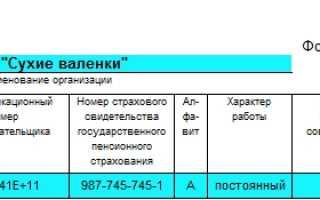 Как заполнять форму Т-2 личной карточки работника