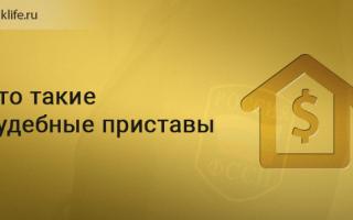 Что такое федеральная служба судебных приставов (ФССП) России