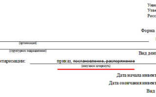 Как составить инвентаризационную опись товарно-материальных ценностей (ТМЦ)