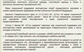 Материнский капитал в Ставрополе и Ставропольском крае в России – процесс получения