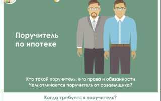 Чем отличается поручитель от созаемщика при ипотеке в РФ