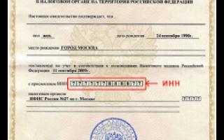 Как можно узнать ИНН по паспорту онлайн