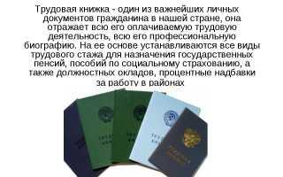 Что делать, если утеряна трудовая книжка в РФ